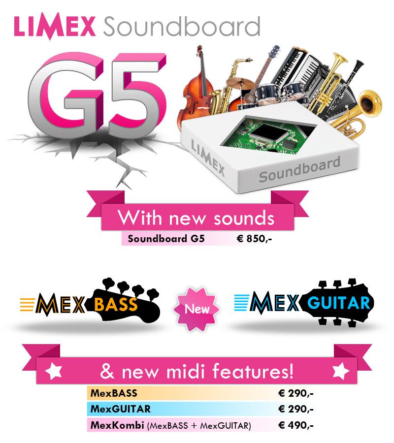 Limex Soundboard G5 MexBASS & MexGUITAR